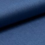 Viscose-Chambray-mittelblau